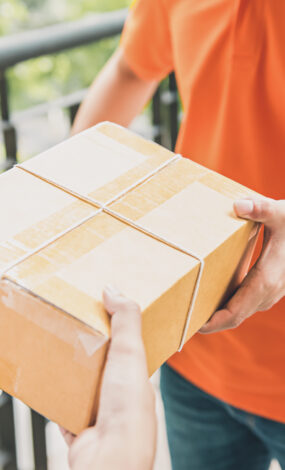 Pakete zur Wunschzeit nach Hause geliefert und dabei noch Verkehr verringern?