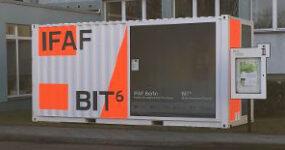 IFAF und BIT⁶ Transfermobil an neuem Ort